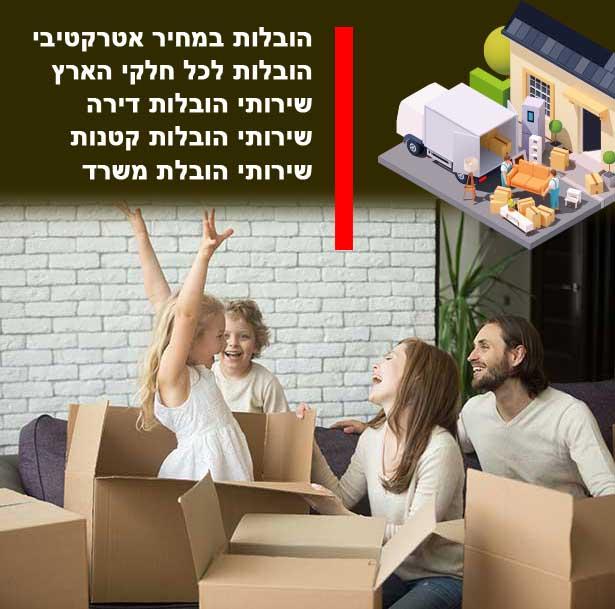 עלות מעבר דירה בעיר מירון, העלויות שלנו